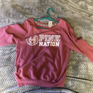 VS Pink Nation Sweater